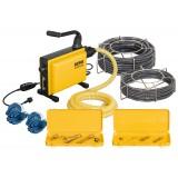 Машина для прочистки канализационных труб REMS Кобра 22 сет 16+22 для труб 25-150 мм