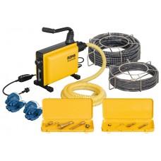 Машина для прочистки канализационных труб REMS Кобра 22 сет 16+22 для труб 25-150 мм Прочистка канализации