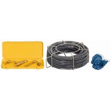 Spirali i rabochiy instrument REMS 22 mm Prochistka kanalizatsii