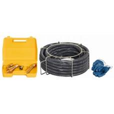 Spirali i rabochiy instrument REMS 32 mm Prochistka kanalizatsii
