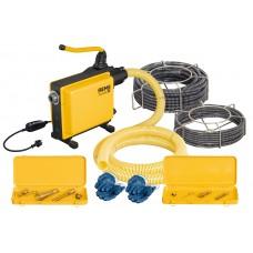 Электрическая машина для прочистки труб REMS Кобра 32 set 16+22 Прочистка канализации