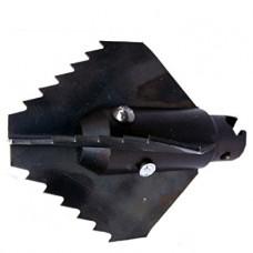 G.Drexl Крестообразная зубчатая насадка 22/45 мм, усиленная Прочистка канализации