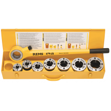 Ручной трубный клупп Rems Ева R 1/2 - 1 1/4 Резьбонарезной инструмент